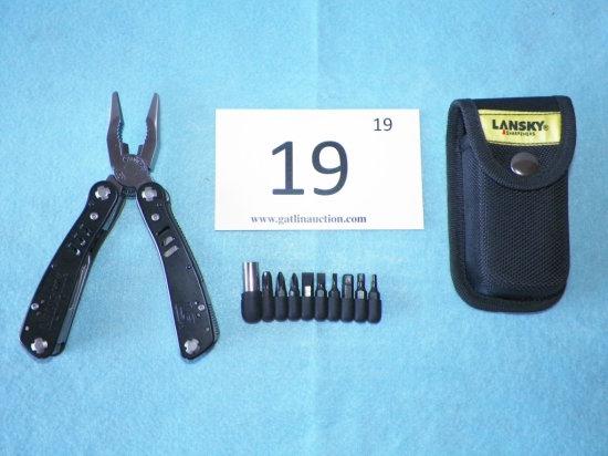 Lansky LS Black 2CR Multi-Tool With Case