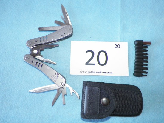 Lansky Ls Silver 2CR Multi-Tool With Case