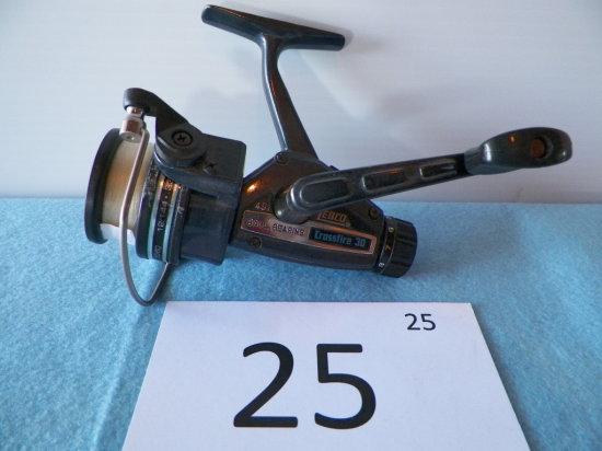 Zebco Crossfire 30 4.9:1 Open Fishing Reel