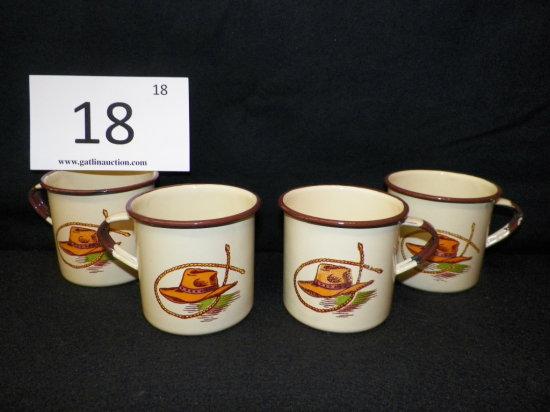 Quanity x 4 - Monterrey Ranchware Cups