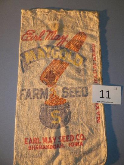 Earl May Farm Seed Sack - Shenandoah, Iowa
