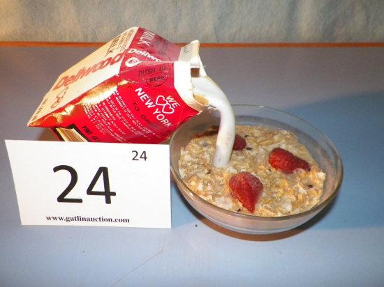 Breakfast Cereal Display