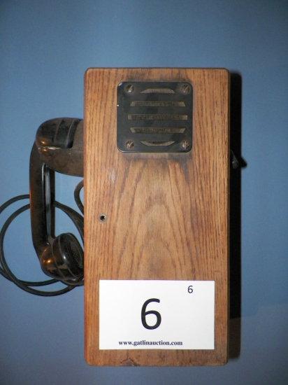 Wall Type Magneto Telephone