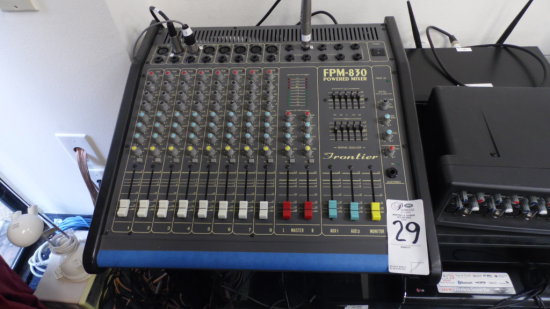 FPM-830 POWERED MIXER