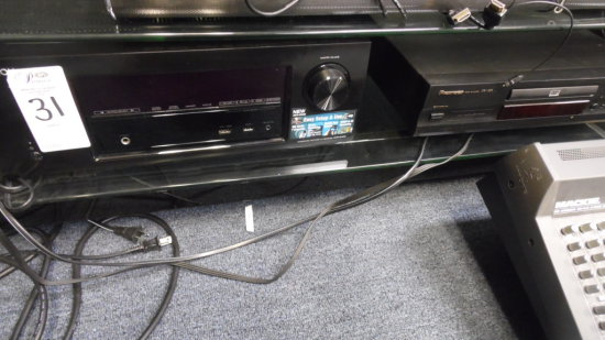 DENON RECEIVER & PIONEER DVD PLAYER