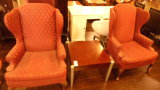 2 WINGBACK CHAIRS & TABLE (3-PIECE SET)