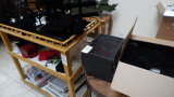ASSORTED JEWERLY BOXES / DISPLAYS w/ STAND