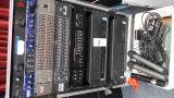 FURMAN AUDIO CABINET W/ LEXICON MX200 PROCCESSOR, DOD SR 231 GRAPHIC EQUALIZER, ACTEC LA-600 POWER A