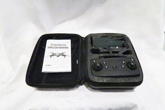 Eachine E58 Drone in Black Case