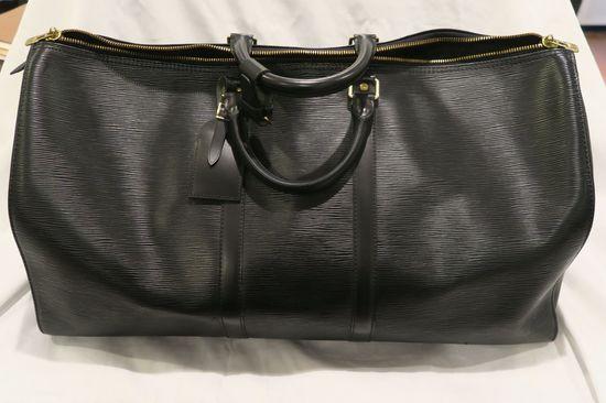 Louis Vuitton EPI Black Leather Duffle (larger)