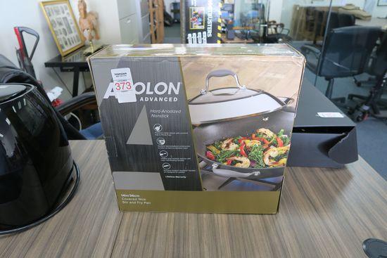 Anolon Non-Stick Covered Wok