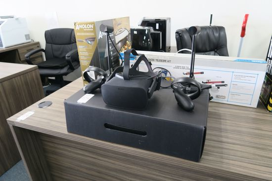 Oculus Rift VR Bundle with Headset Model HM-A, Oculus Touch Left and Right, Oculus Sensors Model 3P-
