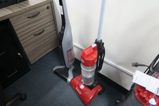 Dirt Devil and Hoover Linx Floor Sweepers
