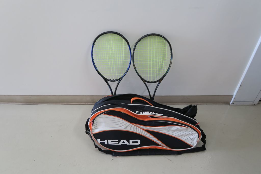 Set (2) Prince Tennis Rackets in Case