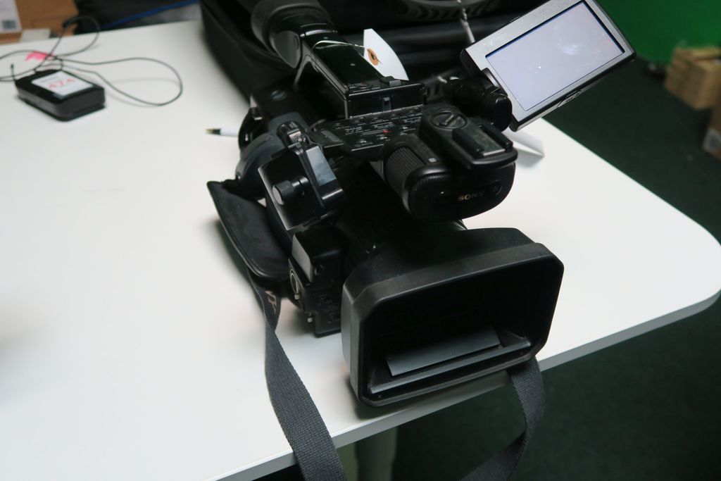 Sony Digital HD Video Camera Recorder, m/n HVR-Z1U (No Batteries or Power Supply) (This item must be