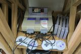 Super Nintendo with 2 Controllers and 5 Games