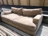 Beige Fabric Sofa  (located in storage in Costa Mesa - buyer must make appointment to pick up from t