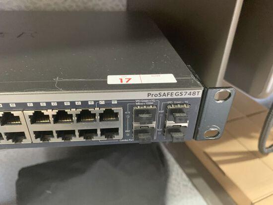 Netgear Prosafe GS748T 48-Port Switch