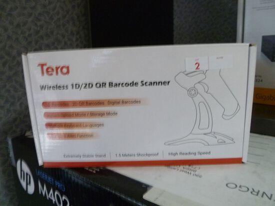 Tera Wireless 1D/2D Bar Code Scanner (new in box)