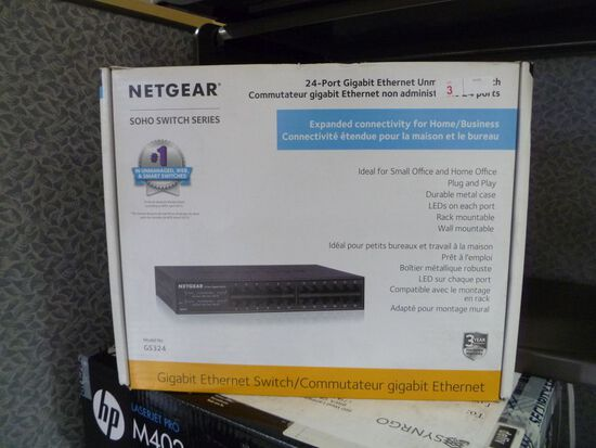 Netgear GS324 24-Port Switch (new in box)