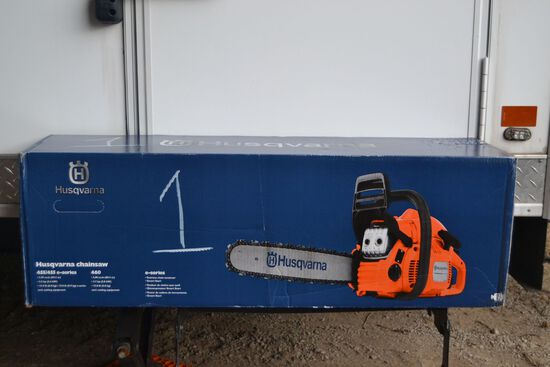 HUSQVARNA 455 E-SERIES CHAINSAW