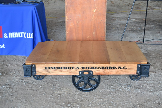 ANTIQUE LUMBER CART