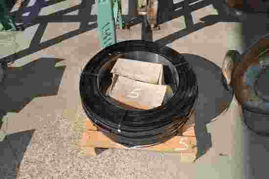 (3) ROLLS NEW STEEL BANDING