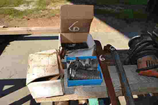 LOT OF NEW TEETH, SHANKS, & SAW WRENCHES