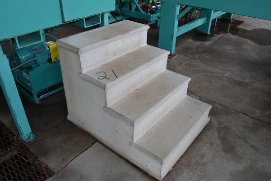 (3) SETS OF CONCRETE STEPS
