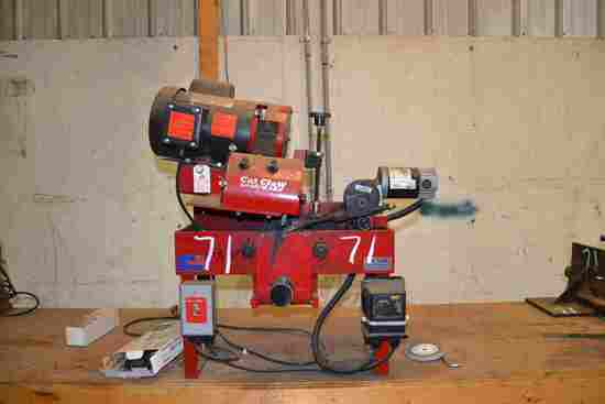 CAT CLAW BAND SAW SHARPENER W/STANDS; W/TENSIONER