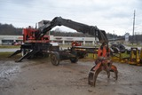 PRENTICE 410C KNUCKLE BOOM LOADER W/ CONT GRAPPLE W/ LEVER CONTROLS W/ 6 CYLINDER CIMMIN ENGINE MOUN
