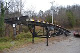 QUALITY 40' TRI AXLE CAR HAULER 5TH WHEEL TRAILER (NO TITLE, BILL OF SALE ONLY)