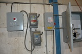 ELECTRICAL PANEL CONSISTING OF: WEG SIZE 2 STARTER W/ 2 SIZE 0 STARTER W/ 30 AMP DISCONNECT