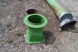 CHIPPER DISCHARGE PIPES