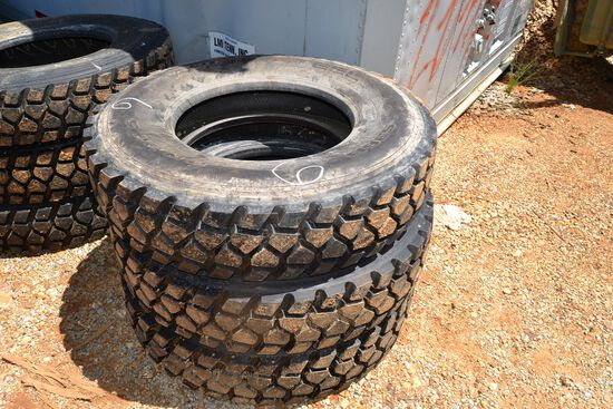 3 NEW 11R 22.5 TIRES