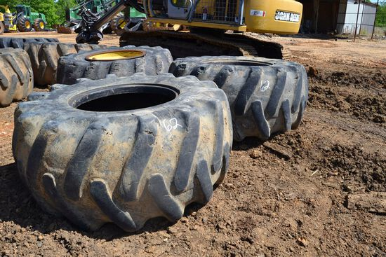 3-30.5X32 TIRES  1 WITH WHEELS