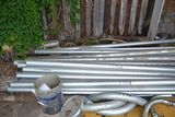 LOT OF NEW AND USED CONDUIT