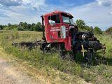 1996 FREIGHTLINER ROAD TRACTOR W/ N-14 CUMMINS ENGINE W/ 8 SPEED TRANS SN#1FUPFDYB9TH782386 SALVAGE