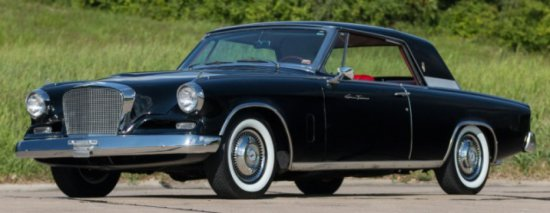 1962 Studebaker Grand Turismo Hawk
