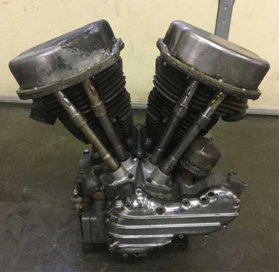 1961 Harley Davidson Panhead FLH Motor
