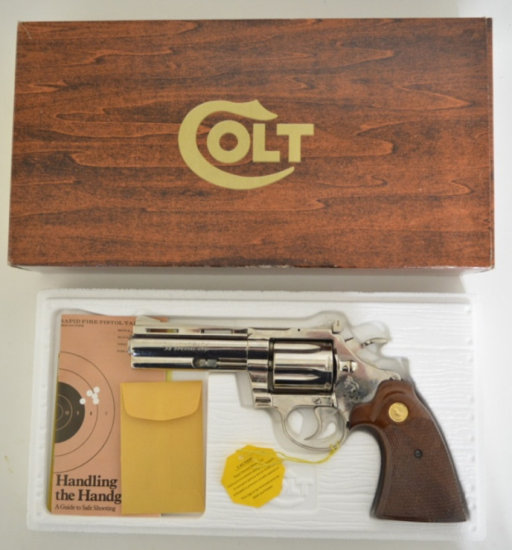 Colt Diamondback .38 Special Revolver MIB