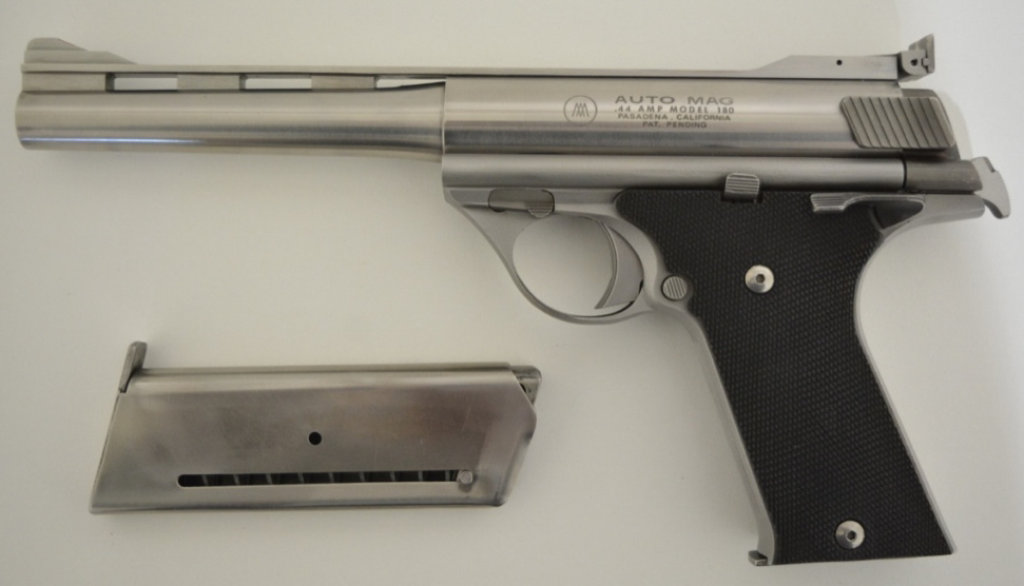 Auto Mag Model 180 .44 AMP Semi-Auto Pistol