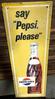 "Pepsi Cola SST ""Say Pepsi Please"" Sign"