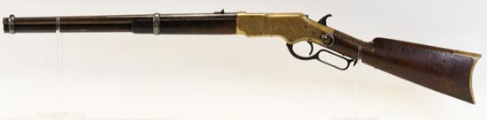 Engraved Winchester Model 1866 Saddle Ring Carbine