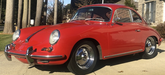 1963 Porsche 356B 1600 Karmann Coupe