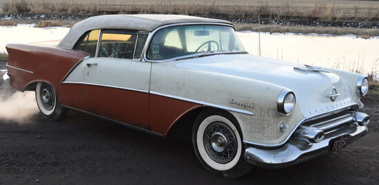 1954 Oldsmobile 98 Starfire Convertible-Barn Find