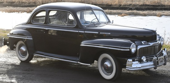 1948 Mercury Eight Coupe