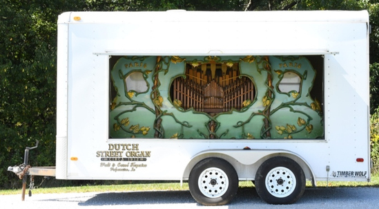 1912 Dutch Street Organ and Trailer