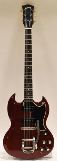 1963 Gibson SG With Bigsby Vibrato Electric Guitar