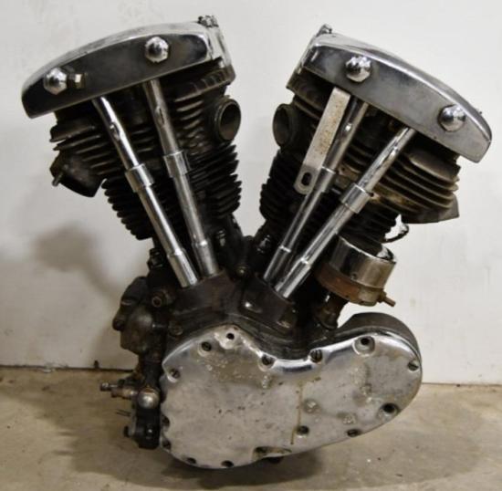 1967 Harley Davidson FLH Shovelhead Engine w Title